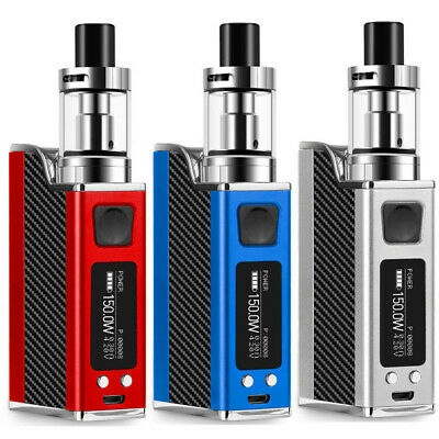 150W LED  Electronic Cigarettes w Battery E Vape Vaporizer Starter Kit Tank  AU
