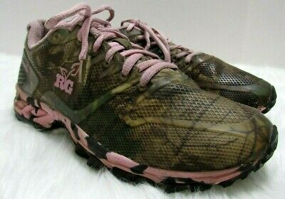 976eff026d43 Real Tree Girl Mamba Shoes Womens 8.5 Hiking Trail Walking Pink Camouflage