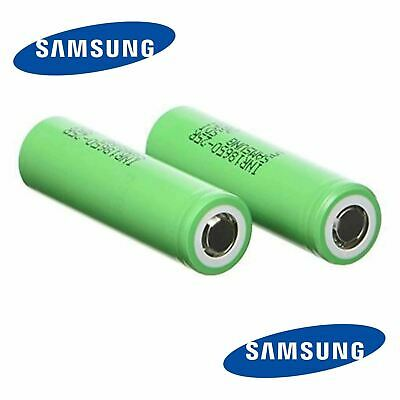 100% Authentic Samsung 25R 2500mAh INR 18650 3.7V 20A Rechargeable Battery Vape