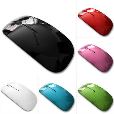 2.4GHz Cordless Wireless Mouse Mice Optical Scroll For PC Laptop Computer USB