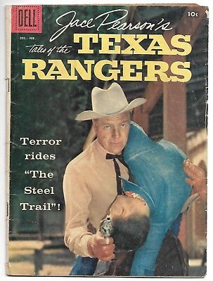 Jace Pearson's Tales of the Texas Rangers #18 (Dell, 1958) – Western – VG
