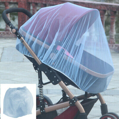 Stroller Pushchair Pram Mosquito Fly Insect Net Mesh Buggy Covers Baby Infants