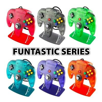 Nintendo 64 Funtastic Controller Stands, Gaming Displays, N64, Retro, Collection