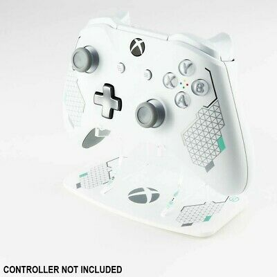 Xbox One Sports White Printed Acrylic Controller Display Stand - Gaming Displays