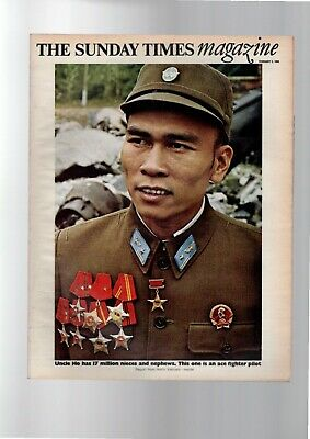 Sunday Times Magazine 2 February 1969 Ho Chi Minh North Vietnam