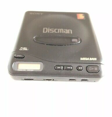 Super Rare And Vintage Sony Discman Personal / Portable Cd Player D-11