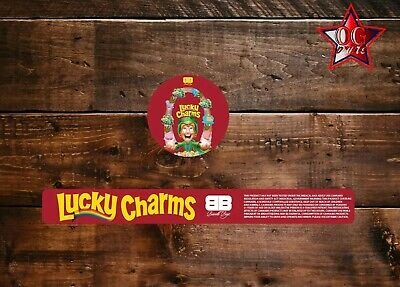 10x Biscotti boyz Lucky charms 60ml Cali Tin JAR labels