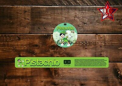 10x Biscotti boyz Pistachio 60ml Cali Tin JAR labels