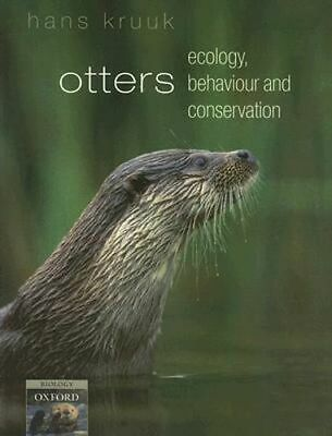 NEW Otters By Hans Kruuk Paperback Free Shipping