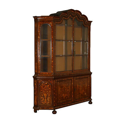 Maple and Oak Bookcase Holland Mid 18th Century