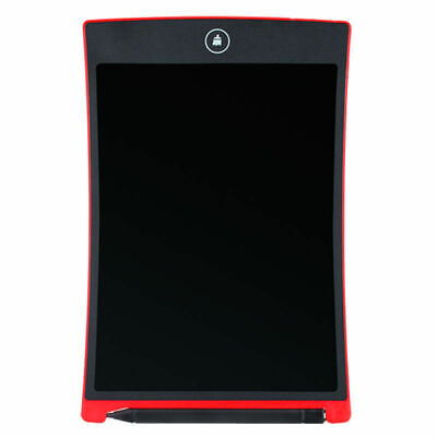 "8.5"" inch LCD e-Writer Tablet Writing Drawing Memo Message Board Black or Red"