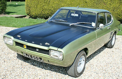 MK1 Ford Capri 3000 GT Broadspeed Bullitt. Very Rare. 1 of 7 .