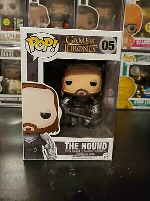 Funko Pop! Game of Thrones The Hound #05 Vinyl Figure WITH PROTECTOR!