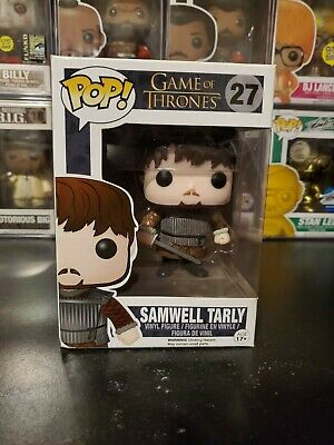 Funko Pop! Game of Thrones Samwell Tarly #27 Vinyl Figure WITH PROTECTOR!
