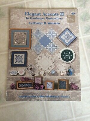 Vintage Elegant Accents II in Hardanger Embroidery Booklet Nordic Needle Inc