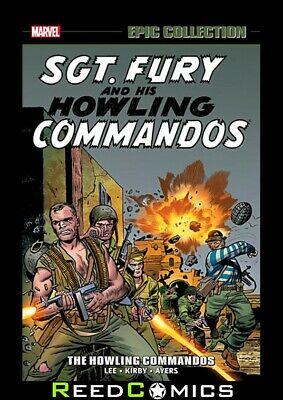 SGT FURY EPIC COLLECTION THE HOWLING COMMANDOS GRAPHIC NOVEL Collect (1963) 1-19