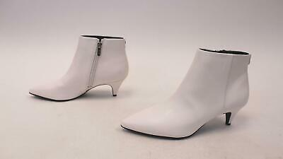 7610baf395 Circus by Sam Edelman Women's Kirby Pointed Toe Booties AB3 White Size 8
