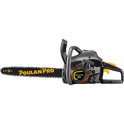 Poulan Pro 18-Inch Bar 42CC 2 Cycle Gas Powered Chainsaw (Certified Refurbished)