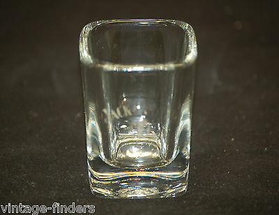 Jack Daniels Old No. 7 Bourbon Whiskey Barware Square Shot Glass