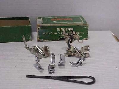 6 Singer Sewing Machine Attachments For Class 306 Machines Free Ship