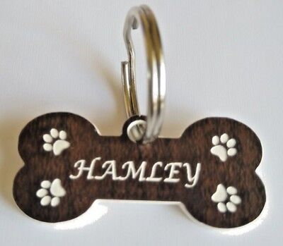 Pet Tag , engraved, Personalised ID Dog Cat Tags pet I'd tag , vet , not metal