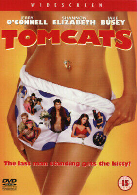 Tomcats DVD (2001) Jerry O'Connell, Poirier (DIR) cert 15 FREE Shipping, Save £s