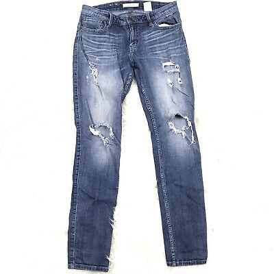 561fca30a1ea Eunina Junior Girl 11 Light Blue Wash Maxwell Low Rise Skinny Jeans Ripped  Holes