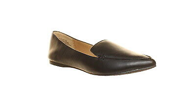 ad3623cfef3 Steve Madden Womens Feather Black Leather Casual Flats Size 7 (229530)