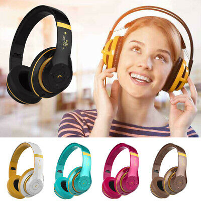 Wireless Headset Headphones Bluetooth Noise Cancelling Over Ear With Microphone