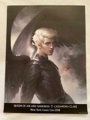 QUEEN OF AIR AND DARKNESS 18x24 Original Promo Poster NYCC 2018 Cassandra Clare