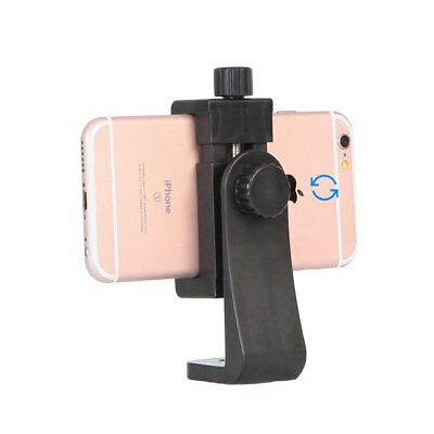 New 360° Rotation Phone Clamp Clip Holder Mount For Tripod Monopod Selfie Stick