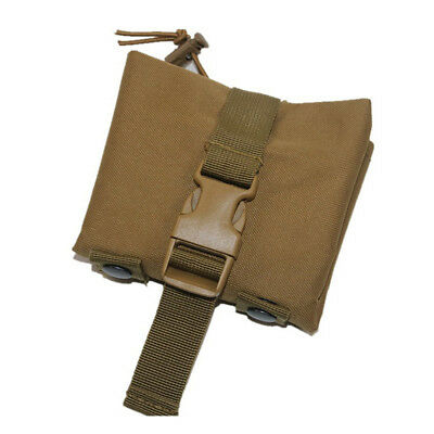 Tactical Magazine Utility Drop Dump Pouch Molle Military Gun Ammo Bag New