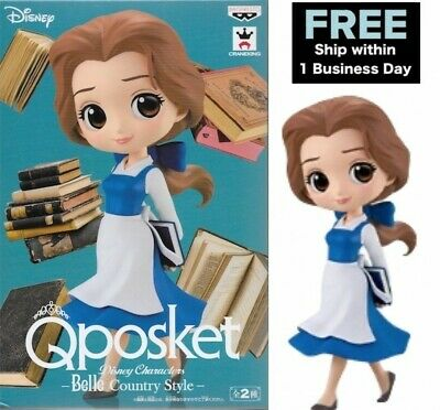 Banpresto Beauty and The Beast Belle Country Style Q posket Disney Figure A F/S
