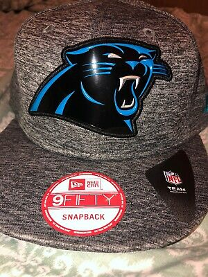 4250ae381 NFL CAROLINA PANTHERS SnapBack Hat New Era Cap