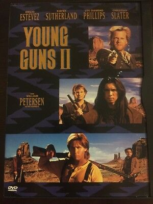 Young Guns 2 (DVD, 1999) RARE OOP - Free Shipping in Canada!