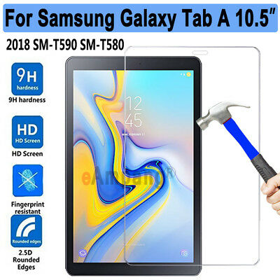 "Tempered Glass Screen Protector for Samsung Galaxy Tab A 10.5"" (2018) T590 T595"