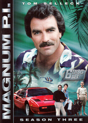 Magnum P.I. - The Complete Season 3 (Keepcase) New DVD