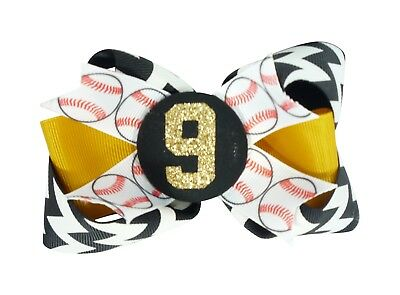 Choose team colors Basketball Glitter Personalized Hair Bow