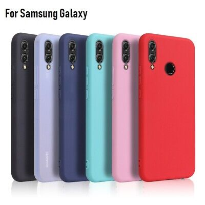 For Samsung Galaxy A50 A40 A70 A20E A80 Soft Silicone Shockproof TPU Case Cover