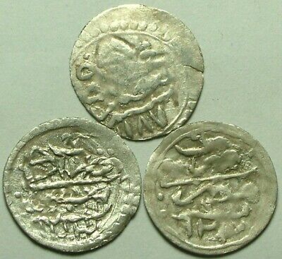 Lot Rare Genuine Islamic para coins/Ottoman Empire Turkey Istambul Selim/Mustafa