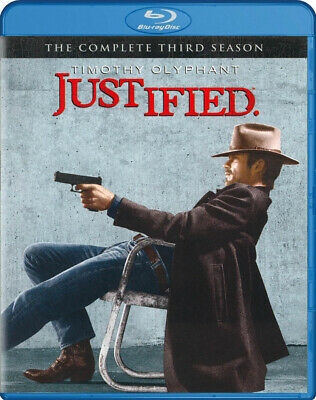Justified - The Complete Season 3 (Blu-ray) (B New Blu