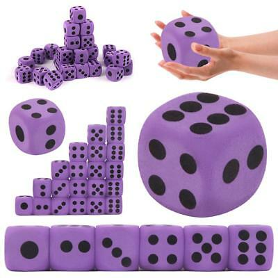 1PCS Supplies Foam Dice EVA Purple Specialty Large Party Game Children Giant