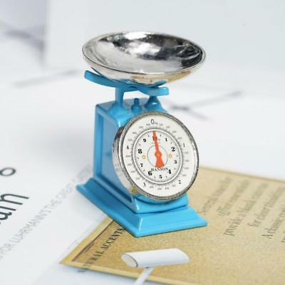 New Mini Vintage Metal kitchen scale For 1:12 Miniature Dollhouse Decor Gift