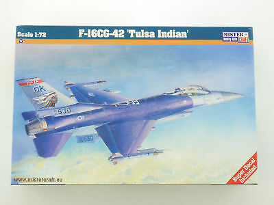 LOT 12439Mister Craft 041052 F-16C Block42 Tulsa Indians 1:72 Bausatz NEU OVP