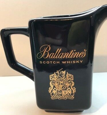 BALLANTINE'S SCOTCH WHISKY Pitcher - Liquor Bar Water Pitcher