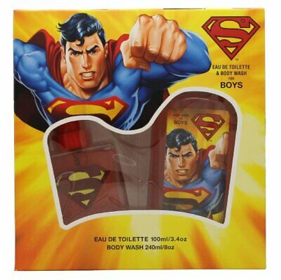 Superman Superman Gift Set Eau De Toilette Spray 100ml + Body Wash 240ml