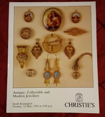 Christie's Antique, collectable and Modern Jewellery Kensington 1992
