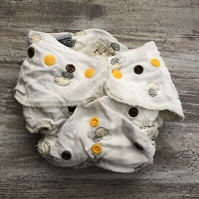 Handmade Fitted Cloth Diapers - Lot Of 2