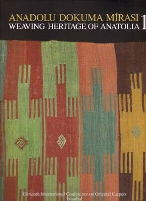 NEW BOOK - Weaving Heritage of Anatolia 2 Volumes 2007