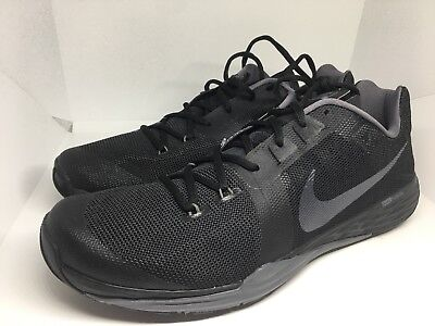 c54ae0bc1231 NEW MENS NIKE FREE TRAIN PRIME IRON TRAINING SNEAKERS BLACK 832219-007 Size  14